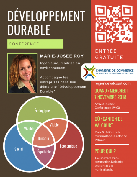 Conférence Développement Durable