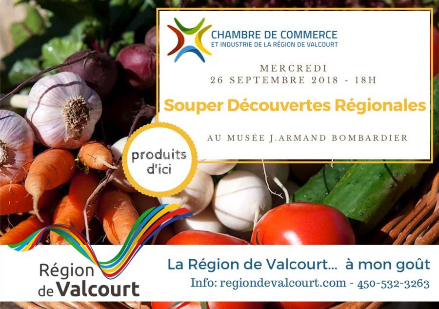 Souper Découverte Régionale 3e édition