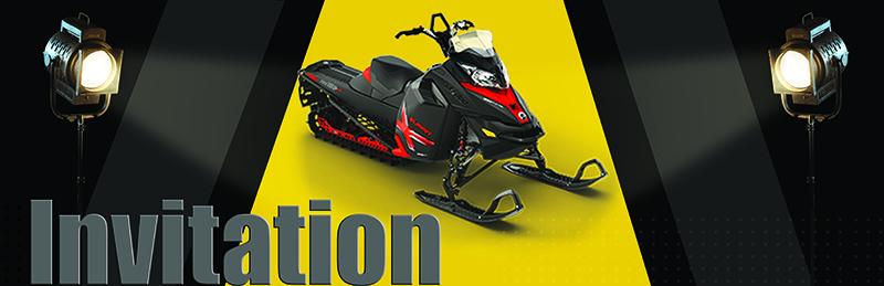 La trois millionième motoneige Ski-Doo présentée au musée J. Armand Bombardier